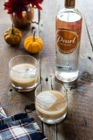 Pumpkin Spice White Russian brings the autumn season to your nightly cocktail. Full of spice and vigor thanks to Pearl Pumpkin Spice Vodka.