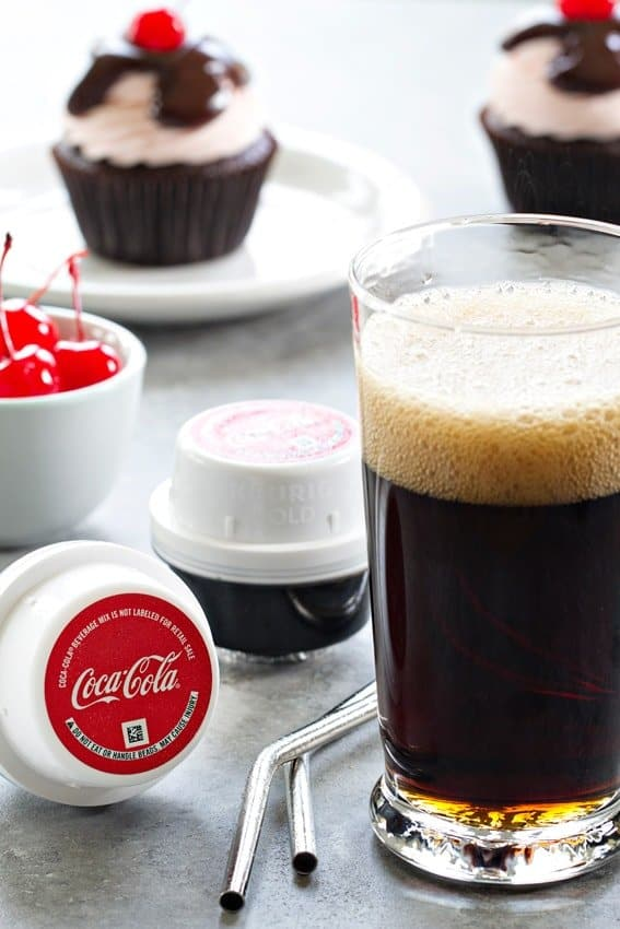 The Keurig Kold Drinkmaker creates perfectly chilled, carbonated and portioned Coca-Cola at the push of a button.