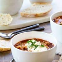 Lasagna Soup is just the meal you want on a cold evening. Perfect for a table of hungry people!