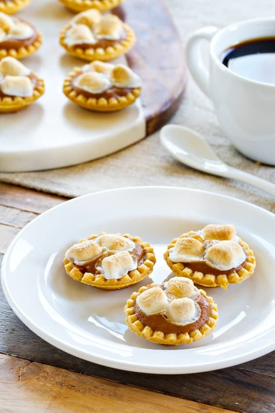 Mini Sweet Potato Pies are so easy to make and so fun to eat!