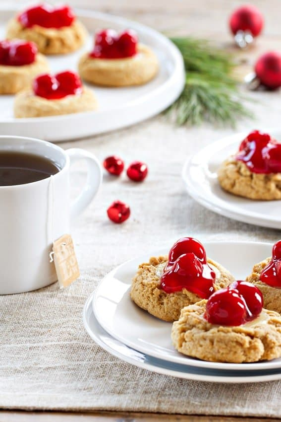 Cherry Cheesecake Cookies are reminiscent of the best New York cheesecake you've every had. And now you don't have to leave your kitchen.