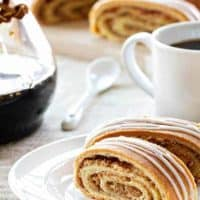 Honey Walnut Nut Roll