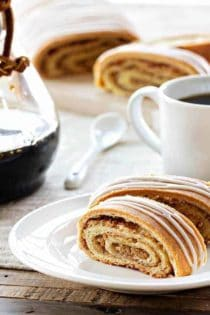 Honey Nut Rolls are filled with delicious ground walnuts and sweet honey. So perfect for any occasion!