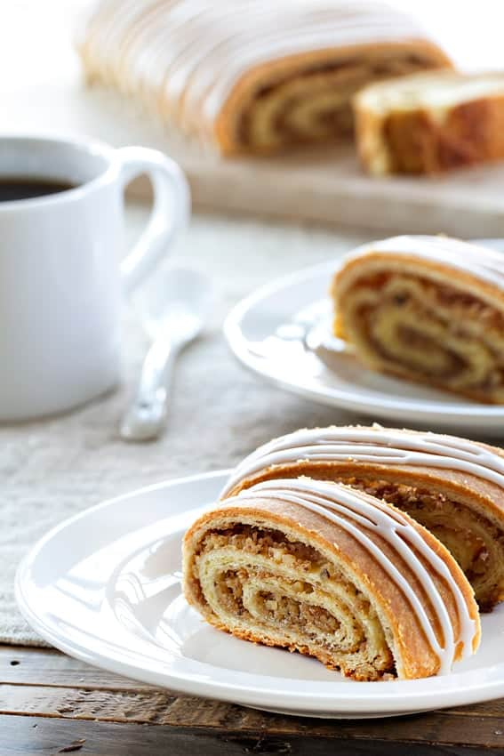 Honey Nut Rolls are filled with ground walnuts and delicious honey. A new favorite for years to come!