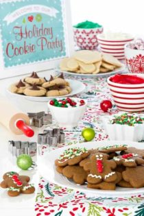 Tips and tricks for hosting a holiday cookie party for kids. So much fun for everyone!