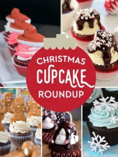 15 Festive Christmas Cupcakes that are sure to make your holiday season a little more delicious!