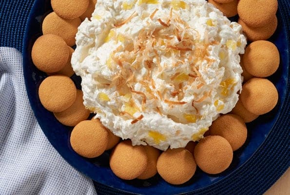 NILLA Piña Colada Dip is sure to have all of your guests huddling around the dessert table!