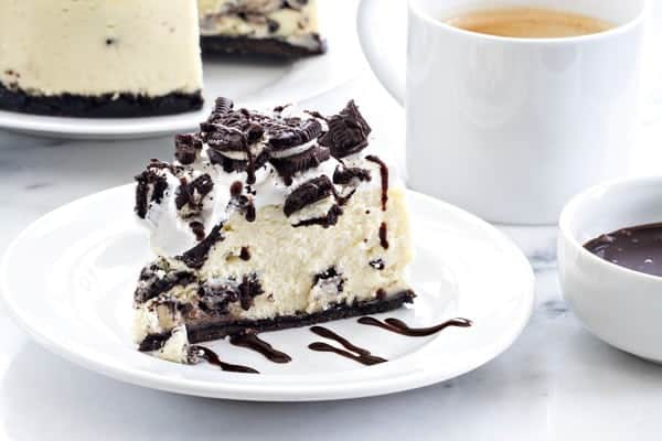 Instant Pot Oreo Cheesecake may just be the easiest cheesecake you'll ever make. The texture is so perfect!