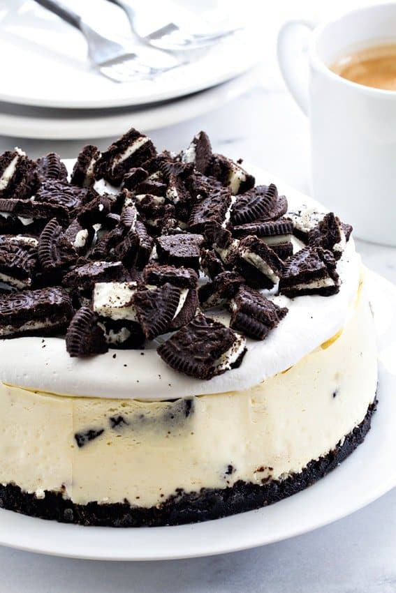 Oreo Cheesecake Recipe Food