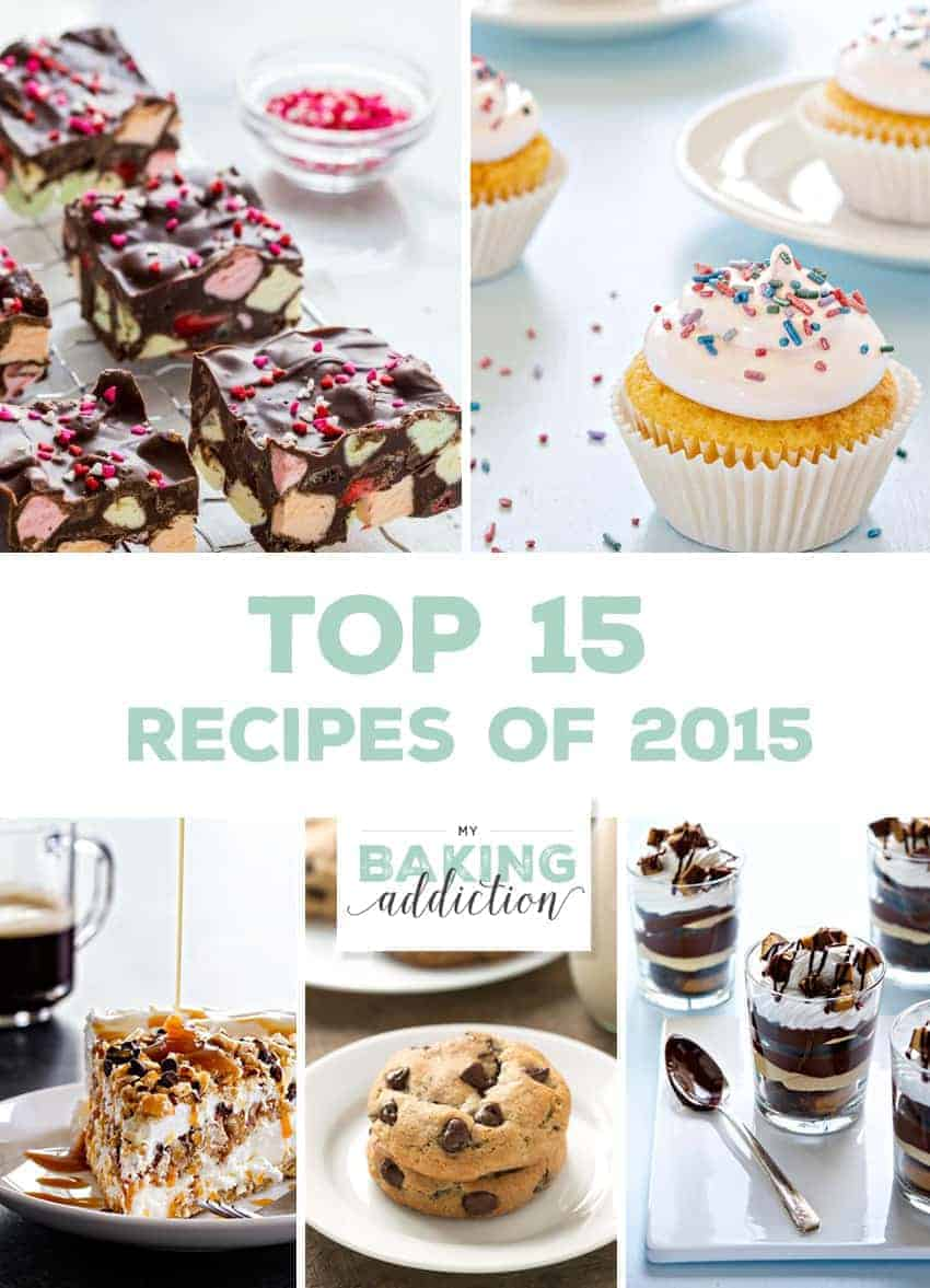 Top 15 Recipes from 2015