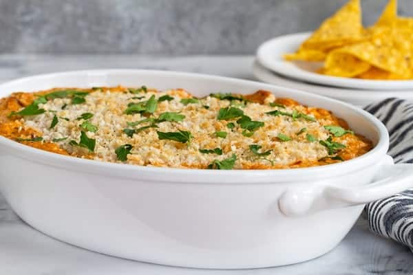 BBQ Jalapeño Popper Dip is creamy, tangy, and a great appetizer for entertaining. Perfection.
