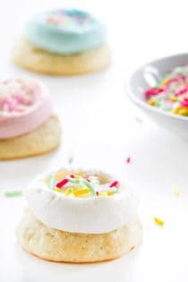 Soft Sugar Cookies will charm you with just one bite. A cookie never tasted so good!