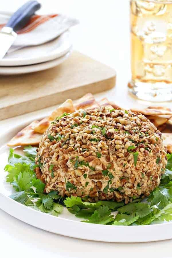Spicy Taco Cheese Ball will be exactly what your guests flock to at your next party. They won't be able to stay away!