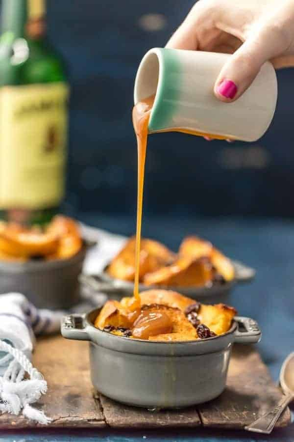 Irish Bread Pudding with Whiskey Caramel Sauce is the perfect dessert ...
