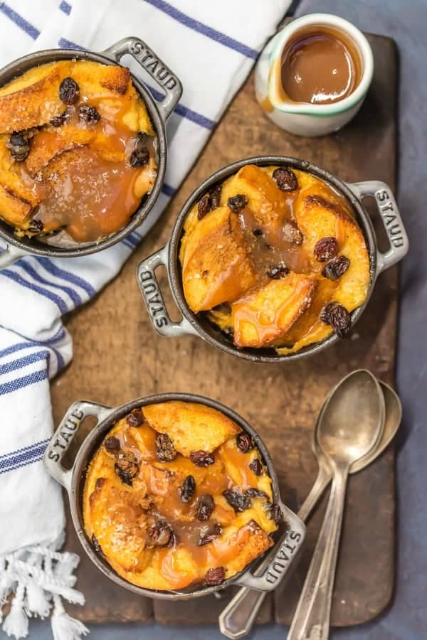 Irish Bread Pudding with Whiskey Caramel Sauce is so easy and so ...