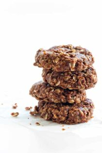 No Bake Cookies are just the right bite of chocolate, peanut butter, and oats. And no need to turn on the oven!