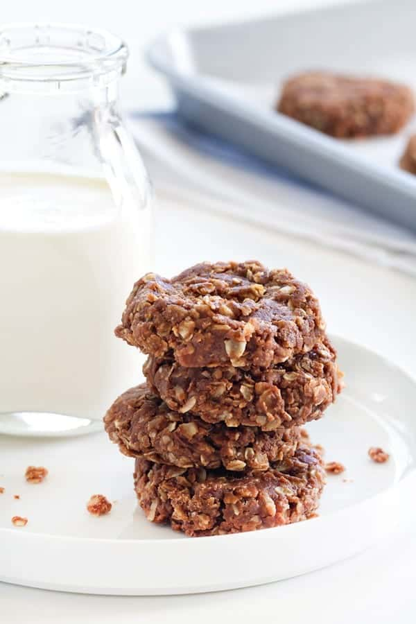 No Bake Cookies couldn't be easier. Just a few ingredients, and you're done!