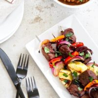 Sweet and Spicy Beef Kebabs