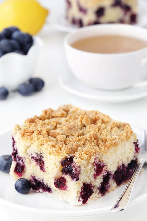 cake muffins blueberry spice coffee cake fresh blueberry coffee cake ...