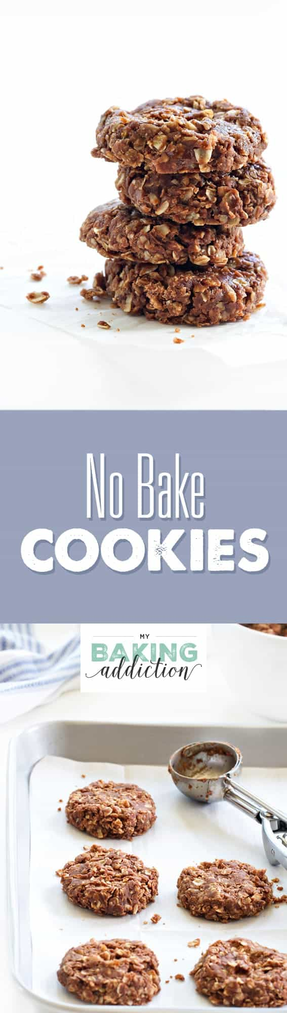 No Bake Cookies come together in a matter of minutes. This is a recipe you'll love for years to come!