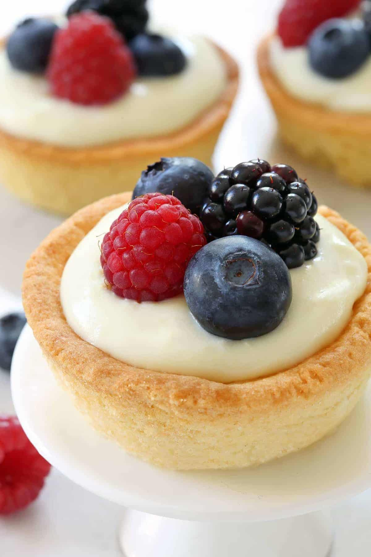 Sugar Cookie Berry Cups Recipes — Dishmaps