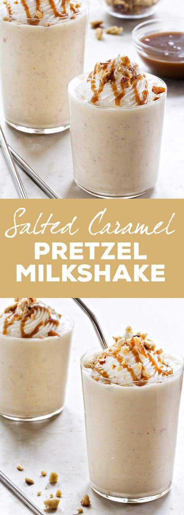 Salted Caramel Blended Ice Milk Recipe — Dishmaps