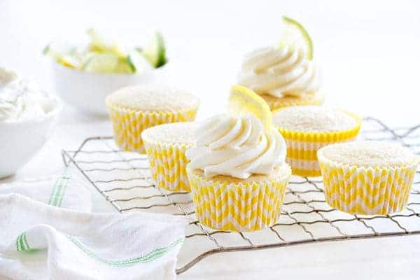 Lemon Lime Cupcakes are the dessert that'll wake up your mouth. So delicious!