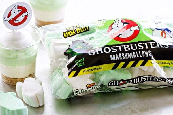 Slimer Cheesecake Parfaits are as simple as they are delicious! So perfect for the Ghostbusters lover in your life!