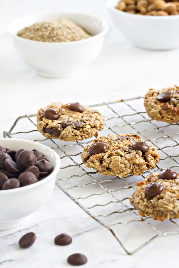 Chocolate Almond Breakfast Cookies are a fabulous way to start your day. A great treat to grab and run out the door!