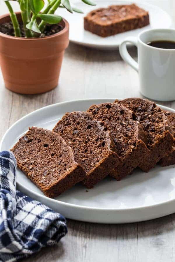 Chocolate coconut zucchini bread my baking addiction chocolate coconut zucchini bread will become your new way to use summers favorite vegetable totally forumfinder Image collections