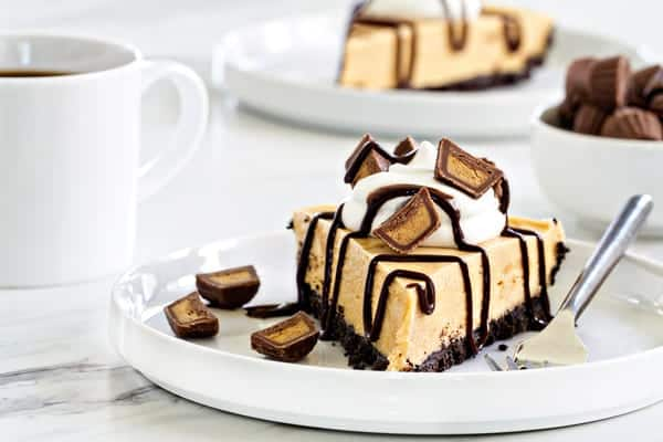 Whip this peanut butter pie up for a special occasion or on a Monday ...