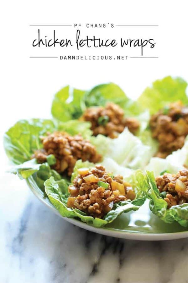 PF Chang's Lettuce Wraps from Damn Delicious