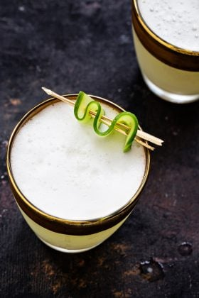 Cucumber Gin Fizz would make a great drink for your next cocktail party. Sure to become one of your favorites!