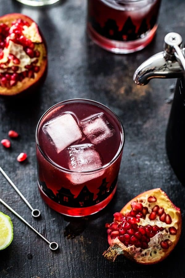 Pomegranate Ginger Punch will make your All Hallows' Eve totally fabulous. You'll make it year after year!
