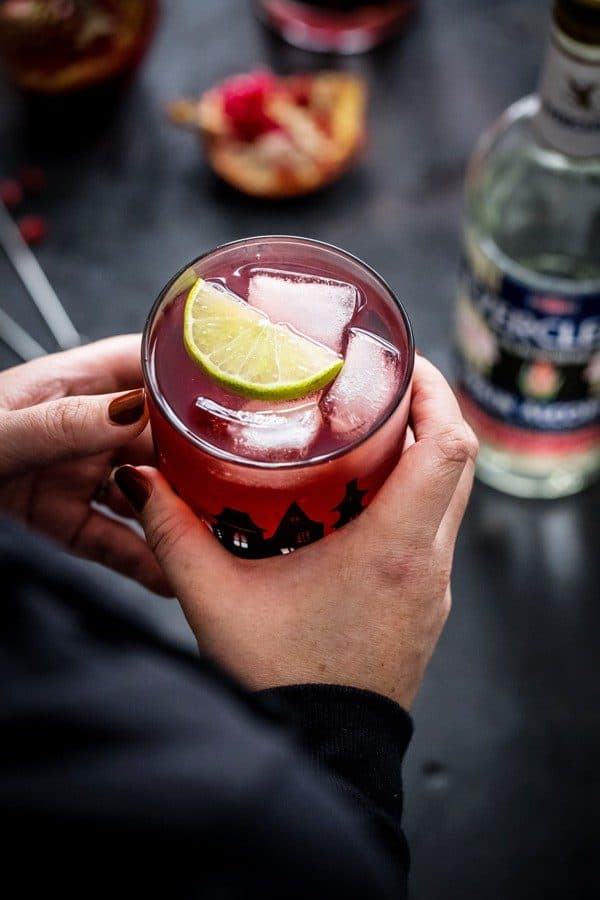 Pomegranate Ginger Punch will be the highlight of your Halloween festivities. Your guests will adore this!