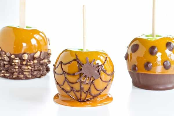 Caramel Apples are a sweet treat everyone loves this time of year. Make them extra special with a spiced twist. Perfect for Fall!