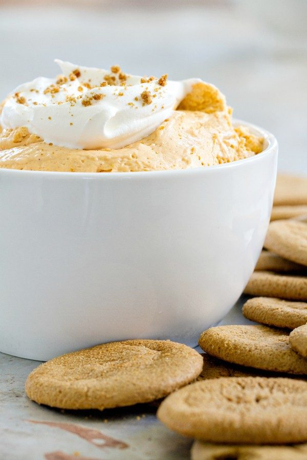 Pumpkin Spice Marshmallow Dip will be your favorite autumn nosh. You won't be able to stop eating it!
