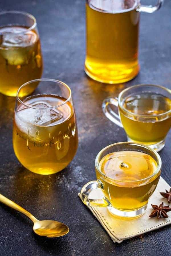 Mulled Apple Cider Punch is a great cocktail to serve to guests. All your family and friends will love it!
