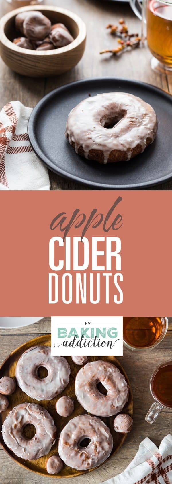 Apple Cider Donuts are loaded with delicious fall flavors. They're perfect for breakfast or dessert!