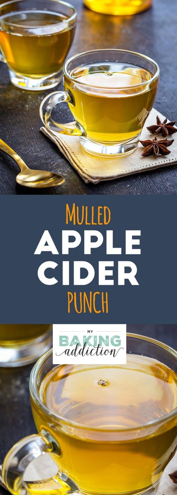 Mulled Apple Cider Punch is a festive drink you can serve hot or cold at your Thanksgiving celebration. So good!