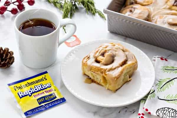 Overnight Toffee Cinnamon Rolls will make Christmas morning even more amazing! You'll love how simple and delicious they are!