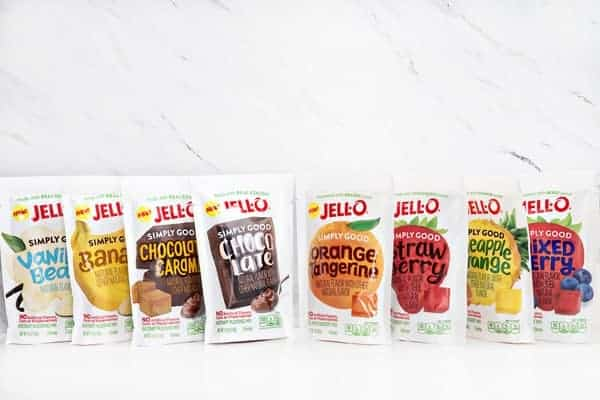 Simply JELL-O Products Picture