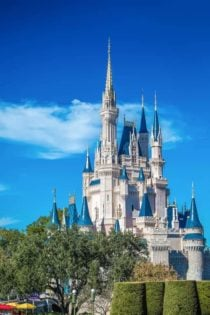 Staying off property at Disney World.