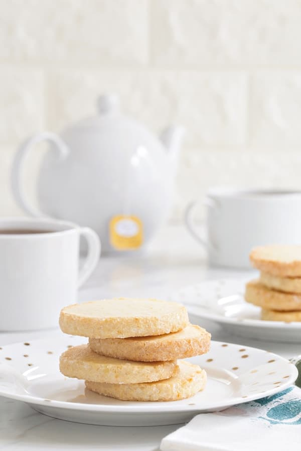 Orange shortbread cookies couldn't be easier or more delicious. Pair them with a mug of tea and your afternoon is complete!