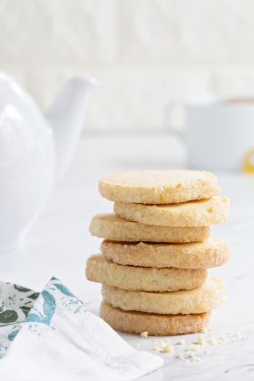 Orange shortbread cookies couldn't be more delicious. Pair them with a cup of Earl Gray for the perfect afternoon treat.