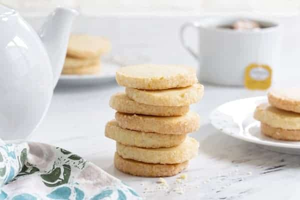 Orange shortbread cookies couldn't be more delicious. Pair them with a cup of Earl Gray for the perfect afternoon pick-me-up!