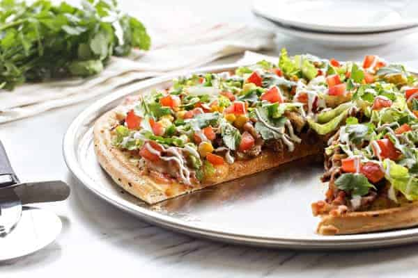 Taco Pizza Pie combines two of your favorites into one satisfying dinner. Genius!