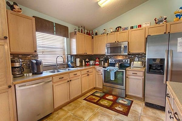 Serendipity at Indian Creek Disney World Vacation Rental Kitchen
