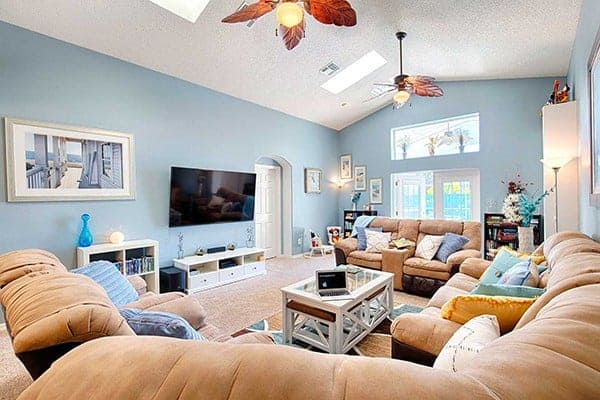 Serendipity at Indian Creek Disney World Vacation Rental Living Room