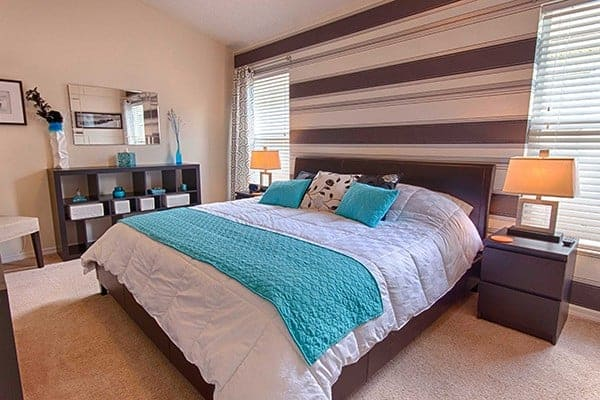 Serendipity at Indian Creek Disney World Vacation Rental Master Bedroom Picture